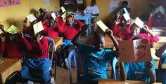 Students are #UpForSchool in Kibera, Kenya