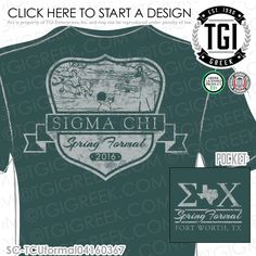 TGI Greek - Sigma Chi - Formal - Greek Apparel #tgigreek #sigmachi