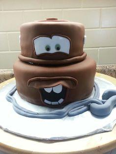 Tow Mater cake | Parties | Pinterest