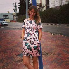 Милое расклешеное платье с кармашками #ulsi #israel #sderot