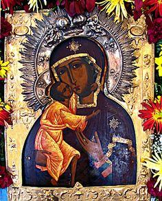 Feodorovskaya Mother of God | Russian Icon, ca.1830.