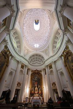 Interior, S. Carlo alle Quattro Fontane. Rome. 1638-39 #architecture