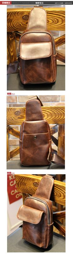 PU leather men chest bag pack vintage cross body chest pack male sling bag pack for men travel sling backpack storage chest belt-inCrossbody Bags from Luggage & Bags on Aliexpress.com   Alibaba Group