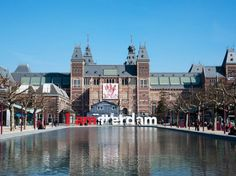 Amsterdam Rijksmuseum | 9a-5p daily | Adults:€15,00, buy tickets online to skip long lines | Week days are less crowded