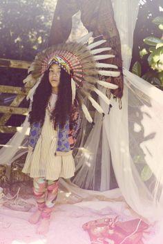 Boho Beautiful-'Mind the Cashmere' featured in Milk Magazine - Zahra Noble