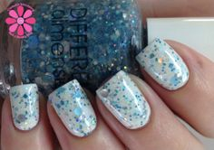 That's Snow Joke Hand Mixed Nail Polish by DIFFERENTdimension