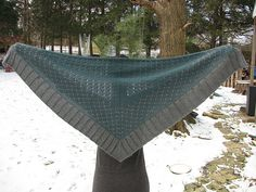 Ravelry: Bwade's Czarina shawl knit in Valley Yarns Deerfield
