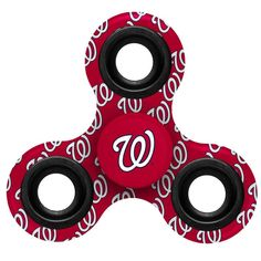 Washington Nationals Logo Three-Way Fidget Spinner