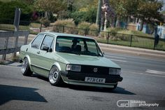 "Tobi's Mk1 VW Jetta Coupe on 14"" Image Billet 60's - 9559 by More Than Sam Dobbins, via Flickr"