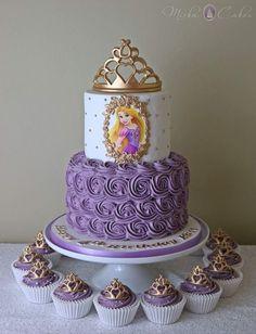 3 tier pastel princess cake with handmade rose – Artofit Rapunzel Torte, Bolo Rapunzel, Rapunzel Birthday Cake, Disney Princess Birthday Cakes, Baby Girl Birthday Cake, Tangled Birthday Party, Disney Birthday, Sofia Birthday Cake, Princess Cakes