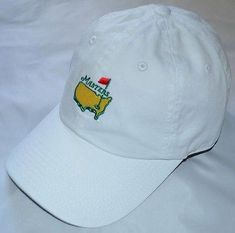 dc3de42b7bd4d 2017 MASTERS (WHITE) Slouch Golf HAT from AUGUSTA NATIONAL   LearnToPlayBetterGolf  golftipscomingoverthetop