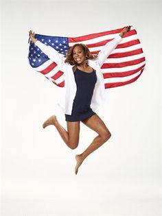 PHOTOS: Proud To Be An American - Slideshows | NBC Olympics  Sanya Richards Ross Artistic Gymnastics