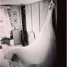 Dress waiting for the bride :)