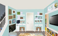Budget-Friendly Playroom Redesign - Meadow Lake Road