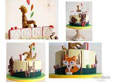 © Mary Das, Cake Thérapie Woodland cake.
