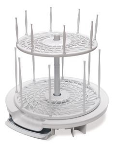 Amazon.com: The First Years Spinning Drying Rack, White: Baby - $10.78 - Great for baby bottles and older toddler sippy cups, snack cups, etc... Still in use after 3 years