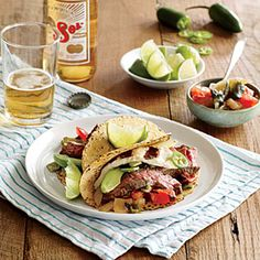 Carne Tampiquena | CookingLight.com #myplate #veggies #protein #fruit #dairy