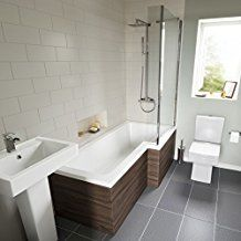 Cool bathroom attic remodel design featuring white ceramic p Bathroom Layout, Modern Bathroom Design, Bathroom Designs, Bathroom Ideas, Funky Bathroom, Garage Bathroom, Narrow Bathroom, Bathroom Plans, Family Bathroom