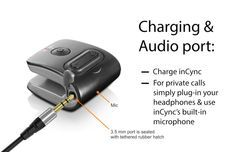 inCync - The Bluetooth Speaker that Clips to Anything. by inCync — Kickstarter.  The World's Smallest and Lightest Bluetooth Speaker and Hands Free Speaker Phone.