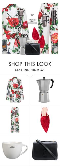 """""""Casual Fridays"""" by hollowpoint-smile ❤ liked on Polyvore featuring Dolce&Gabbana, Alberta Ferretti, Crate and Barrel, H&M, Yves Saint Laurent and Gucci"""