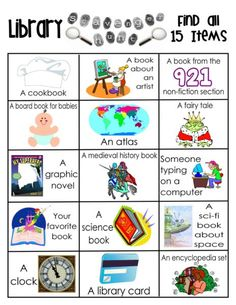 Make a library outing memorable with these fun printable library activities.