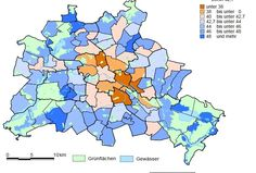 Statistik: Alter der Einwohner Berlins 2016