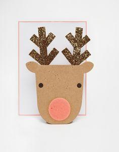 Meri Meri Pop Up Reindeer Christmas Card