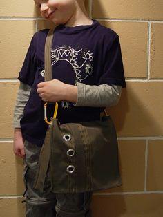 Messenger Bag DIY Tutorial... awesome