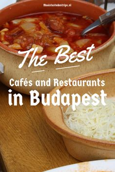Guide to the best cafés, coffee houses, restaurants and food shops in Budapest, Hungary Not in English though! Eurotrip, Destinations D'europe, Hungary Travel, Hungary Food, Budapest Travel, Cool Cafe, Backpacking Europe, European Travel, Travel Europe