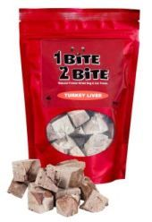 Freeze dried turkey liver full of vitamin A, great for eye health