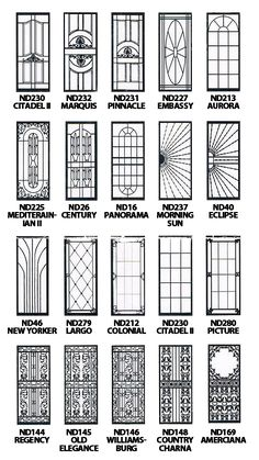Top 55 Beautiful Grill Design Ideas For Windows - Engineering Discoveries Wrought Iron Security Doors, Steel Security Doors, Wrought Iron Decor, Security Gates, Security Screen, Steel Gate Design, Iron Gate Design, House Gate Design, Window Grill Design Modern