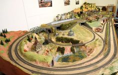 HO Train Layout Construction | All in One Ho Scale Model Train Layout