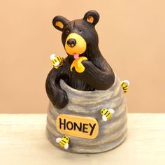 Bearfoots Bears Honey Pot Bear Mini Figurine Bearfoots Bears by Jeff Fleming,http://www.amazon.com/dp/B00B4I2Q4K/ref=cm_sw_r_pi_dp_0k2Ysb1GNJBJZT8V