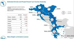refugee flows in Greece while EU-Turkey deal is cofirmed Greece Islands, Macedonia, Slovenia, Hungary, Croatia, Turkey, How To Apply, Self, Military Personnel