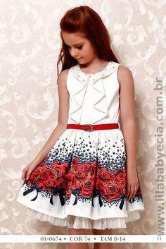 Inspiration for an Oliver + S Building Block dress Girls Formal Dresses, Baby Girl Dresses, Baby Dress, Cute Dresses, Little Girl Outfits, Cute Little Girls, Kids Outfits, Cool Outfits, Young Fashion