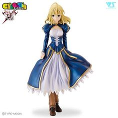 Fate/stay night Charagumin Saber 1/8th Scale Garage Kit 1
