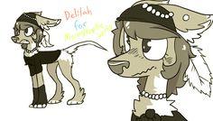 Delilah for moonstonethewolfy by lupisvulpes on DeviantArt
