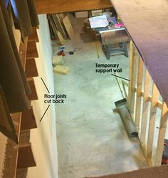 Best How To Move A Stairwell For The Home In 2019 Basement 400 x 300