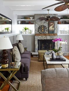 traditional living room by Jules Duffy Designs