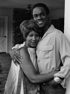 Aretha Franklin & Glynn Turman, newlyweds