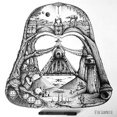 The Star Wars Universe by O'lee Graphiste
