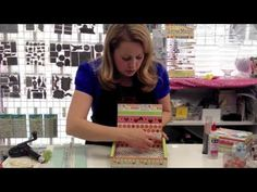 ▶ Cigar Box Tutorial - YouTube GO Tracy!!! at Wooten's Scrapbook Company in Ontario:)