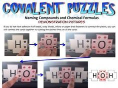 This webpage allows students to visually experience the moment when the atoms come together in a covalent bond. Chemistry Classroom, High School Chemistry, Chemistry Lessons, Teaching Chemistry, Science Chemistry, Middle School Science, Science Lessons, Science Education, Science Activities