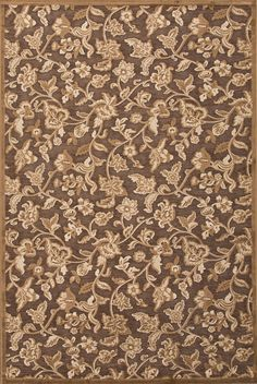 Fables Brown/Tan Area Rug