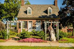 Host an outdoor wedding at The Dearborn Inn, Marriott - photo by Mike Staff Photography Dearborn Inn, Outdoor Photos, Guest Room, Acre, Colonial, Gazebo, Outdoor Structures, Cabin, Explore