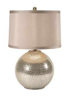 "Bolton Mercury Glass Lamp 25""""h x 16""""d"