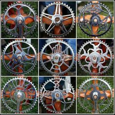 Beautiful chainrings