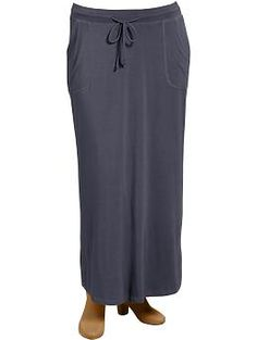 // loose maxi skirts //