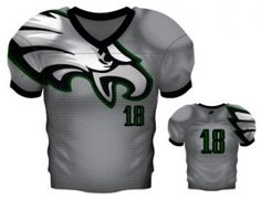 45c7c4fd3 Sublimated Football Jerseys - Custom - All Pro Team Sports Football Uniforms