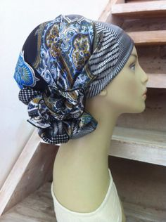 Hair scarf, head scarf and hair accessory  http://www.rinatilakel.com/